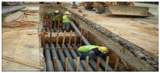High Voltage Underground Cable Installation : Selected projects infrakomas sdn bhd